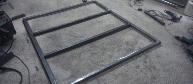 Construire une cloison en bois rev tements modernes du toit - Marquise pour cadre photo ...